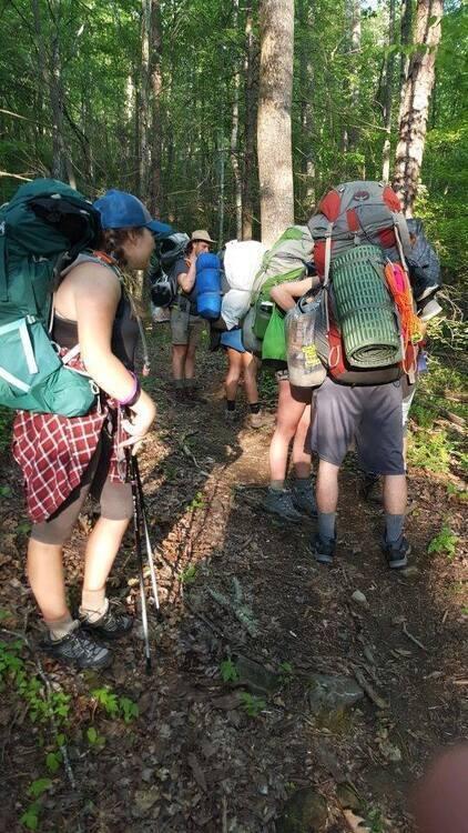 Fall Break Trip Backpacking Pisgah