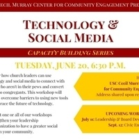 Cecil Murray Center Capacity Building Series: Technology & Social Media