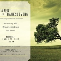 From Lament to Thanksgiving: Ancient Songs and Stories Made New