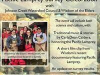Pacific Lamprey Talk & Celebration
