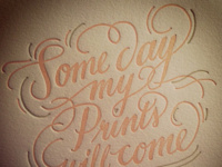"""Some Day My Prints Will Come"" Valentine's Day Gathering at Ladyfingers Press"