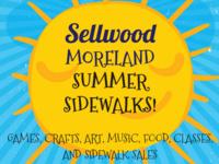 Sellwood Moreland Summer Sidewalks