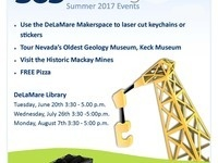 Tutoring Center Summer 2017 Events Series