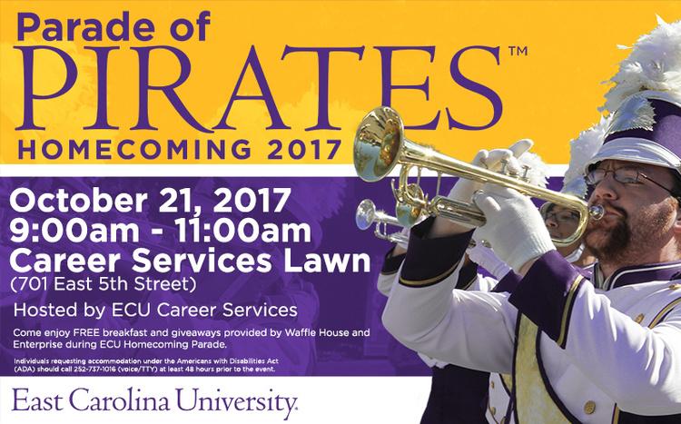 Parade of Pirates - Homecoming 2017