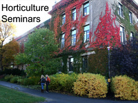 Horticulture seminar: Grapevine Trait Genetics and Improvement