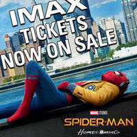 Spiderman: Homecoming in IMAX 3D