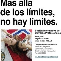 Sesión Informativa Carreras Profesionales Campus Estado de México