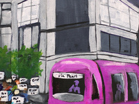 Portland Streetcar Art