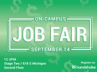 Columbia College Chicago's On-Campus Job Fair 2017