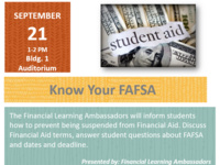 Know Your FAFSA