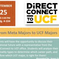 From Meta Majors to UCF Majors