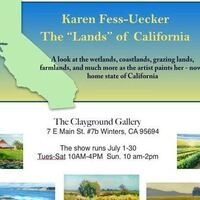 "Karen Fess-Uecker The ""Lands"" of California Exhibit"