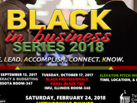 Black in Business Series: Black Professionals Panel: Black Tax