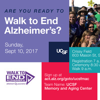 2017 Walk to End Alzheimer's