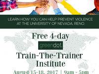 Green Dot Train-the-Trainer Institute