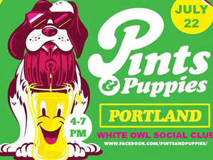 Pints and Puppies Portland