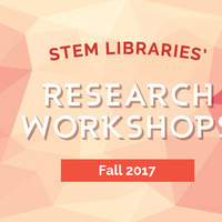STEM Fall Workshop: Research Metrics and AltMetrics