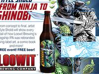 From Ninja to Shinobi: The Art of Re-Branding an IPA