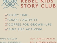 Rebel Kids Story Club