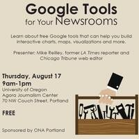 Google Tools for Your Newsrooms