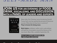 BOOK TALK: Mean Men by Prof. Mark Lipton