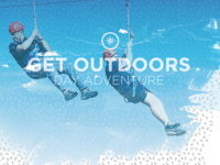 Get Outdoors: Challenge Course and Zip line