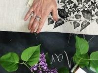 Intro to Fabric Block Printing