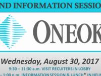 Employer Showcase & Info Session: ONEOK