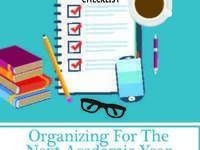 Organizing for the Next Academic Year
