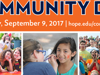 Event image for Hope-Holland Community Day 2017