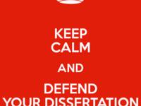 Final PhD Defense for Ran Zhou