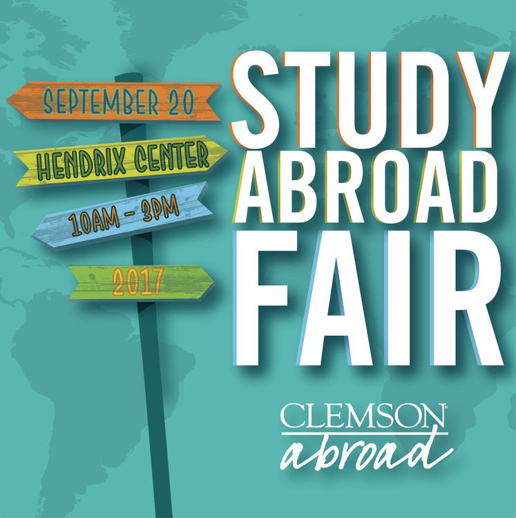 Clemson Abroad Study Abroad Fair