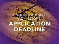 Transfer application deadline for Spring 2018 term