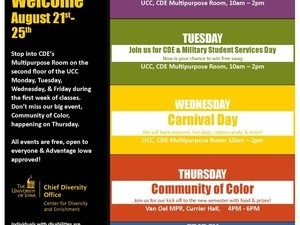 CDE Week of Welcome: Military Student Services Day