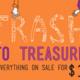 Trash to Treasure: Back to School Sale