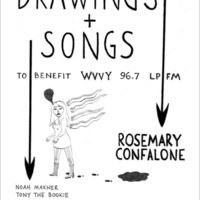 Drawings + Songs: The Art of Rosemary Confalone