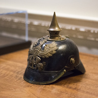 Object of the Month: Pickelhaube (German Helmet)
