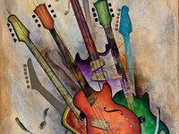 Jazz Guitar Ensemble 1 in Concert