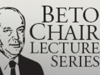 Beto Chair Lecture: Jose R. Almirall