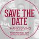 Residential Dining Theme Night: Thanksgiving