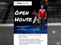 Event image for Theatre Department Open House