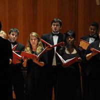 University Chorus, Collegiate Chorale, Cardinal Singers, & Singing Cardsmen