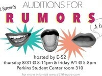 AUDITIONS FOR RUMORS