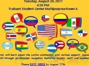 Latino Student Welcome