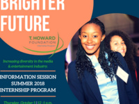 T. Howard Foundation Summer 2018 Internship Program Information Session