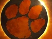 Eclipse over Clemson