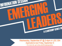 Emerging Leaders Transfer Student Info Session