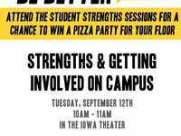 Strengths & Getting Involved on Campus