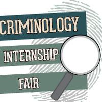 Criminology Internship Fair