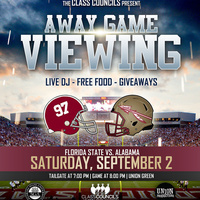 Away Game Viewing and Tailgate